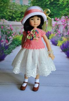 OOAK-OUTFIT-FOR-DOLLS-Little-Darlings-Effner-13. SOLD for $90.00 on 7/2/15
