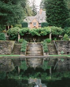 Lewis and Clark College Beautiful Mind, Beautiful World, Beautiful Places, Edison House, Lewis And Clark College, Oregon College, Wedding Ideas Board, Forest House, Pretty Photos