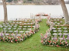 Romantic, whimsical, lush... this February wedding on a lake in Texas is chock full of our favorite things. No surprise they all involve flowers! A winding flower aisle ceremony just off the water, a pink checkered dance floor canopied by a fresh floral ceiling, mid-century modern lounges with rattan chairs, geometric bars and velvet upholstery... we should just let you see it with your own eyes, yes? Wedding Locations, Wedding Vendors, Wedding Ceremony, Floral Backdrop, Backdrop Ideas, February Wedding, Winter Wedding Flowers, Ceremony Backdrop, Whimsical Wedding