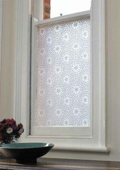 New Curtains Basement Windows
