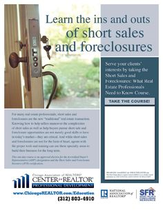Short Sale Foreclosure Resource, short sale and foreclosure education, #SFR, http://www.linkedin.com/in/markilemons