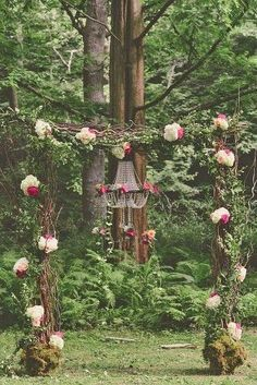 Decoración de Arcos Florales para Bodas 10