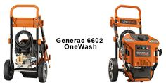 Generac 6602 OneWash 4-In-1 pressure washer for all all domestic cleaning chores