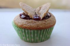 Clean Eating Raspberry Vanilla Butterfly Cakes | The Kitchen Shed