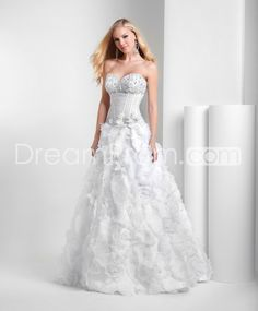 Gorgeous A-Line Sweetheart Floor-Length Pearls Prom/Evening/Homecoming Dresses