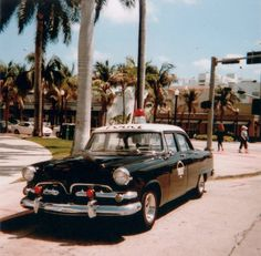 1955 Dodge Miami Beach Police Car by Phillip Pessar, via Flickr