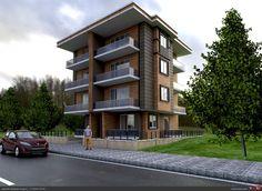 3 katlı apartman
