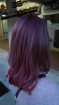 Violet Hair Color by ugly duckling (where to buy)