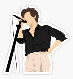 Harry Styles stickers featuring millions of original designs created by independent artists. Meme Stickers, Tumblr Stickers, Phone Stickers, Diy Stickers, Printable Stickers, One Direction Drawings, One Direction Art, One Direction Shirts, Album Covers