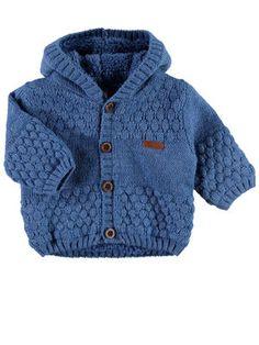 NEWBORN NITMALTHE GEBREID JAS, Federal Blue Knit Jacket, Kids Fashion, Knitting, Children, Sweaters, Baby, Jackets, How To Wear, Federal