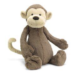 Jellycat Bashful Monkey Plush at The Paper Store