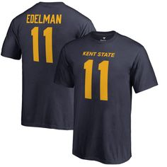 Julian Edelman Kent State Golden Flashes Fanatics Branded Youth College Legends Name & Number T-Shirt - Navy