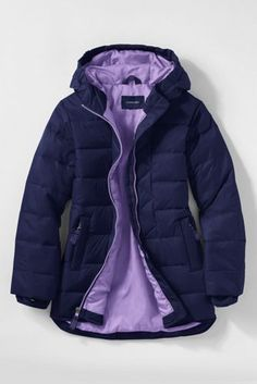 Girls Down Parka from Lands' End