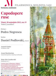 """Capodopere ruse"" – Daniel Podlovski, vioara Orchestra, Concert, The Voice, Concerts, Band"