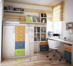 chambre ado ikea en bois clair, chambre adulte parquet clair, petite fenetre