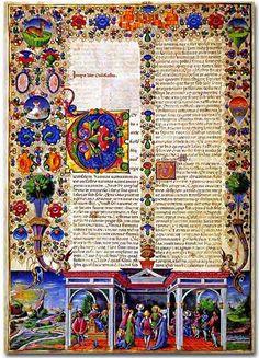 Illuminated Manuscripts... It's a lost art.