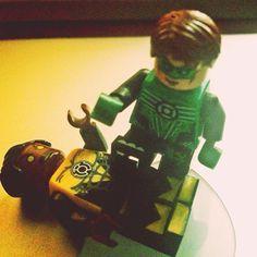 """Green Lantern vs Sinestro #lego #dclego #dccomics #greenlantern #sinestro"" Photo taken by @meddiejusuf on Instagram, pinned via the InstaPin iOS App! http://www.instapinapp.com (03/28/2015)"
