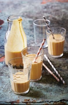 Peanut butter, banana and pumpkin smoothie recipe from Breakfast: Morning, Noon & Night by Fern Green | Cooked