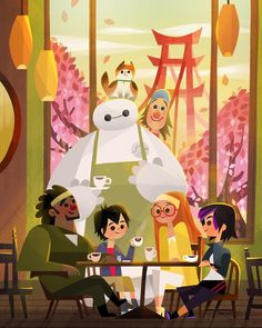 Big Hero 6 Poster Collection: Posters That Will Amaze You!You can find Big hero 6 and more on our website.Big Hero 6 Poster Collection: Posters That Will Amaze You! Heros Disney, Disney Films, Disney And Dreamworks, Disney Pixar, Punk Disney, Disney Kunst, Arte Disney, Disney Artwork, Disney Fan Art