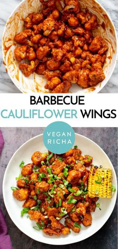 My Vegan Beer Battered BBQ Cauliflower Wings are perfect for game day but also make for an incredible shared appetizer, side dish or even a fun dinner party menu item. Vegan Cauliflower Wings, Cauliflower Recipes, Delicious Vegan Recipes, Raw Food Recipes, Vegan Barbecue, Bbq Seasoning, Dinner Party Menu, Vegan Appetizers, Side Dish