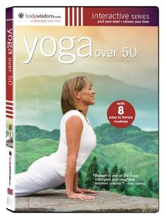 Yoga over 50 - with 8 Routines Item# 1685 - Click image twice for more info - See a larger selection of Yoga Supplies at  http://www.zbestsellers.com/level.php?node=116&title=yoga-supplies  - fitness, exercise, health, gift ideas.