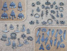 Forged steel pendants 3 by Astalo.deviantart.com on @deviantART
