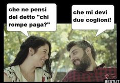 Funny Images, Funny Photos, Image Gag, Famous Phrases, Italian Memes, Gym Quote, Funny Sexy, Good Humor, Funny Jokes