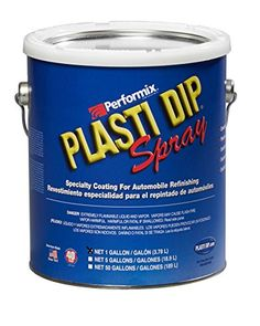 Plasti Dip Spray in a gallon-sized container to be used for automotive purposes only. With so many colors, it's easy to customize your car, peel it off and dip it again. Aerosol Spray Paint, Paint Keys, Waterproof Paint, Customize Your Car, Low Humidity, Liquid Paint, Paint Supplies, Container Size