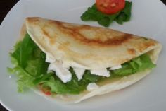 Crepe de tapioca (crepioca)