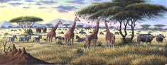 There are original African artists - and there is Geoffre Mugwe. In a class by himself, Mugwe has aligned himself with one particular gallery in Nairobi and Kenyan Artists, African Artists, Nairobi, Wildlife Art, Prehistoric, Beast, Creatures, Gallery, Nature