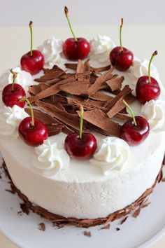 "Kiara`s cakes: Tarta ""Selva negra"" / Black Forest Cake"