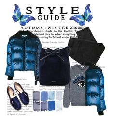"""""""Blue"""" by veronikavavrova on Polyvore featuring Kenzo, Nicholas Kirkwood, Marc by Marc Jacobs and Mansur Gavriel"""
