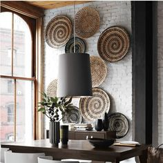 Such gorgeous wall art. I love this. Boho chic-ness!