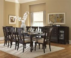 Extraordinary formal dining room table centerpiece ideas that will impress you Pub Table And Chairs, Pub Table Sets, Dining Room Sets, Dining Table In Kitchen, Dining Room Design, Dining Room Furniture, Home Furniture, Dining Chairs, Arm Chairs