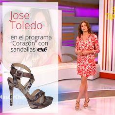Jose Toledo se suma a la moda Exé con estas fabulosas sandalias ¿Te animas tú también?