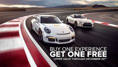 Celebrate this holiday season with friends and family at SPEEDVEGAS. Reserve a driving experience before December 29th and receive second experience free! Drive two supercars for the price of one or bring a friend and share! Call 702-963-0391 or come to SPEEDVEGAS and mention this offer. https://speedvegas.com/en/offers/buy-one-get-one-free/info
