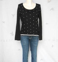 Blusa negra de #temporada #invierno Chica y mediana