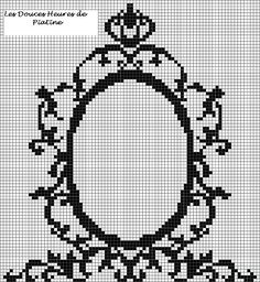 grille miroir baroque - Photo de Mes grilles gratuites - L' Atelier de Piatine 88