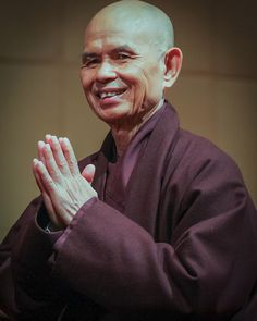 Thich Nhat Hanh Thay 004 by touching peace photography