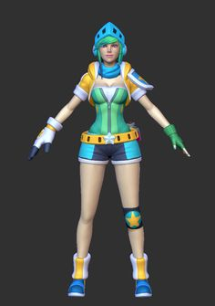 League of Legends Cosplay -- Arcade Riven Cosplay Costume Version 04