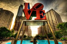 Love Park, Philadelphia, PA   I'm in Philly at about once a month now.