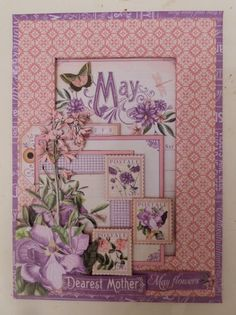 Time To Flourish Decorative Frame May Clare Charvill Jones Crafts Graphic 45