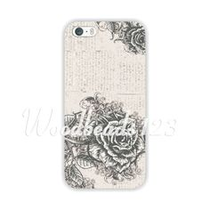 $1.83 Colored Drawing Flower Scenery Pattern Hard Case Cover for iPhone 5 5S WHD1409 | eBay