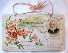 Longfellow Calendar for 1900