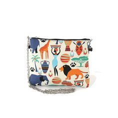African Tribal Print On Canvas Clutch Shoulder Bag ** Check out this great product.