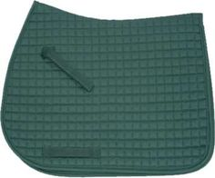 Hunter Green | Forest Green Saddle Pad - All Purpose Style by Pink Equine| Bon-Vivant Equestrian