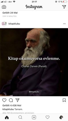 Charles Darwin, Caption For Yourself, Mood Pics, Book Quotes, Cool Words, Insta Pic, Book Lovers, Sentences, Quotations