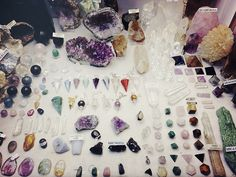 Dreaming of a gemstone collection this glorious