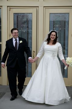 Plus size wedding dress with sleeves #strutbridal #plussize #weddingdress