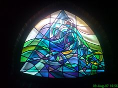Michael X: Stained glass